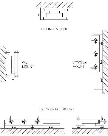 DuraBond Slide Mounting Diagram